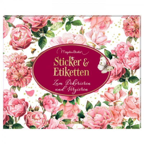 "Stickerbuch ""Etiketten & Sticker Jane Austen"" M. Bastin"