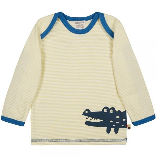 "Shirt ""Ringel Krokodil"" lemon"