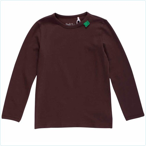 "Shirt KIDS ""Alfa"" uni braun"