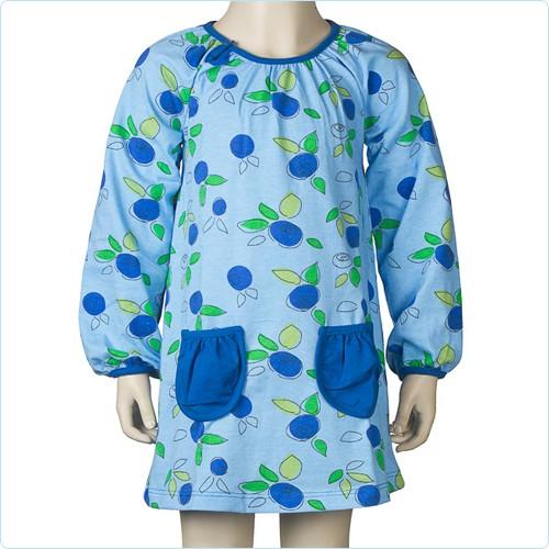 "Tunika-Kleid ""Blueberry"" blau"
