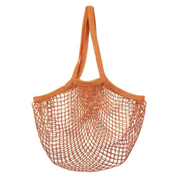 Baumwoll-Einkaufsnetz/String Shopper terracotta