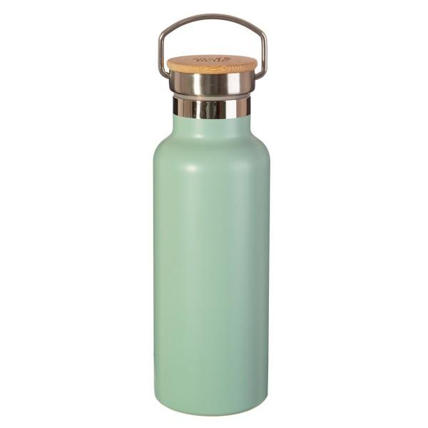 Edelstahl-Trinkflasche mintgrün