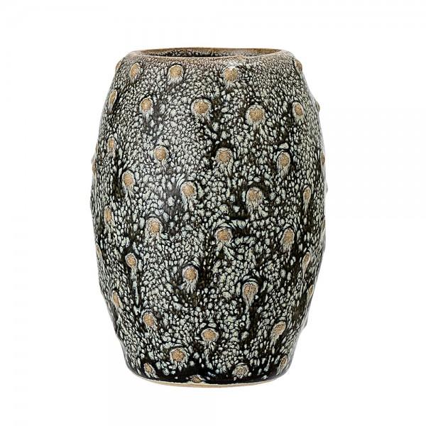 """Kleine Vase """"Kleine Noppen"""" olivgrün ø 6,5 cm"""