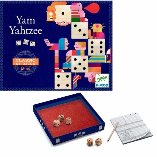 """Klassik-Spiel """"Yam Yahtzee"""" WÜRFELN 8-99 J"""