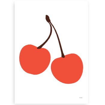 "Poster ""Cherry"" Lisa Masterson"
