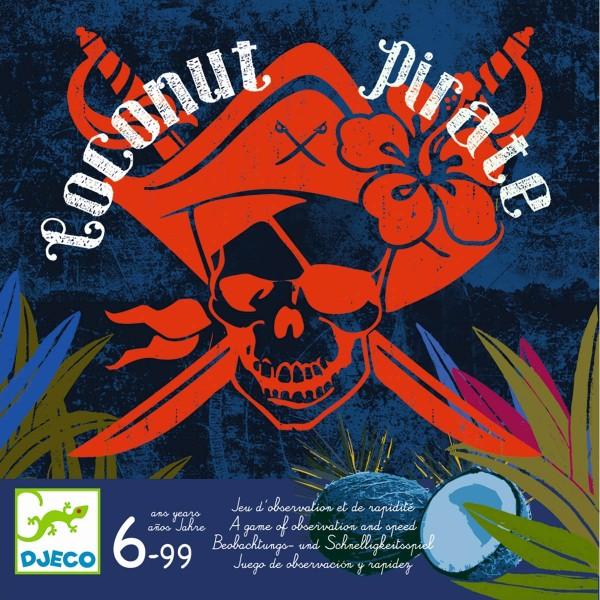 """Spiel """"Coconut Pirate"""" BEOBACHTUNG & SCHNELLIGKEIT 6-99 Jahre"""