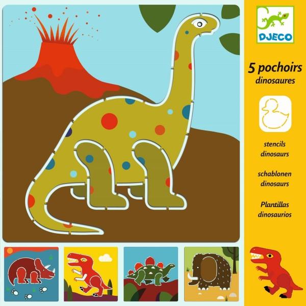 "Schablonen ""Dinosaurier"" 5 Stück"