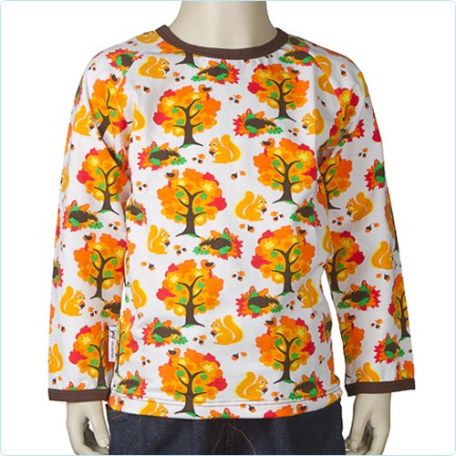 "Shirt ""Autumn"" orange"
