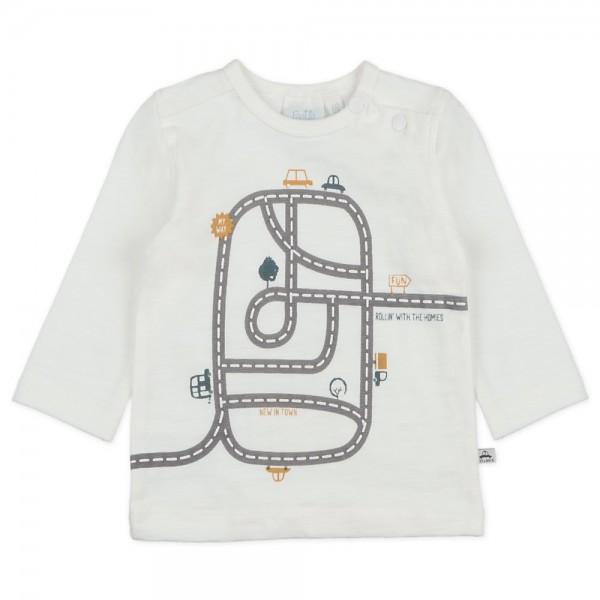 "Bio Baby-Shirt ""Autos"" natur"