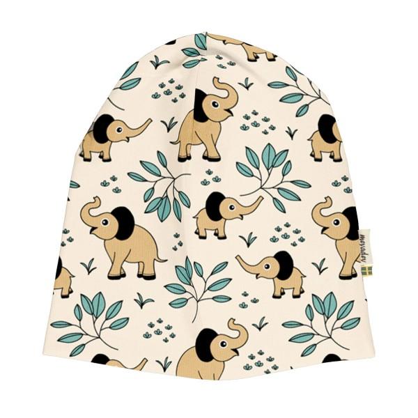 """Beanie-Mütze """"Elefanten"""" natur"""