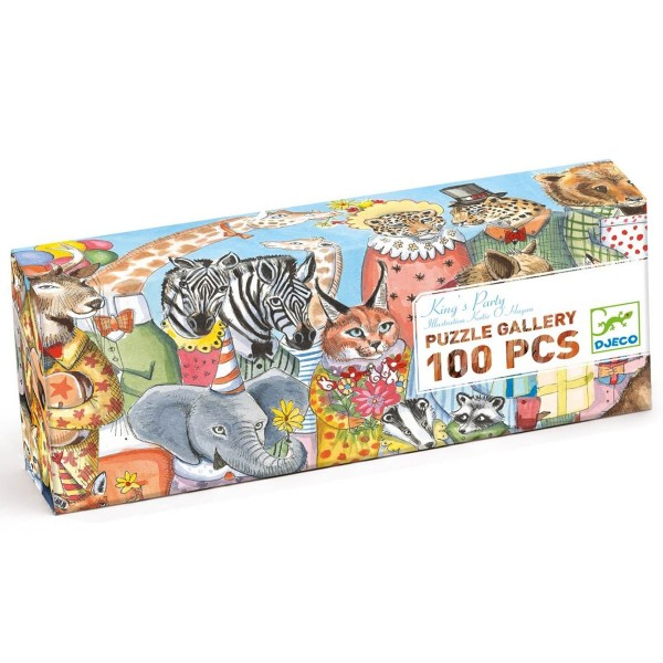 """Puzzle Gallerie """"King Party"""" 100 Teile"""