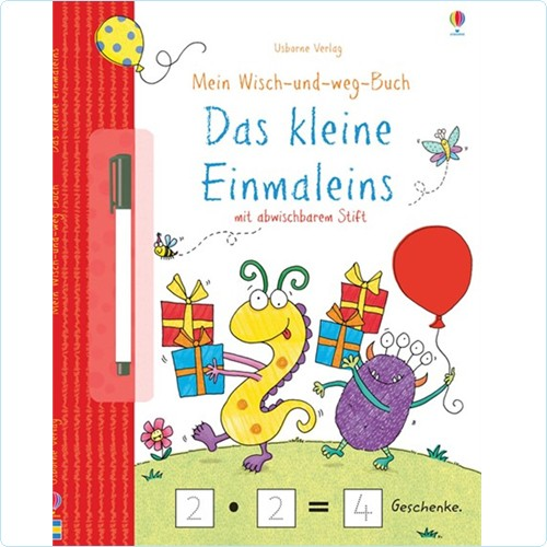 """Wisch-und-weg-Buch """"Das kleine Einmaleins"""""""