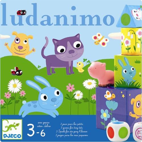 """Spiele-Set """"Ludanimo"""" 3-6 Jahre"""
