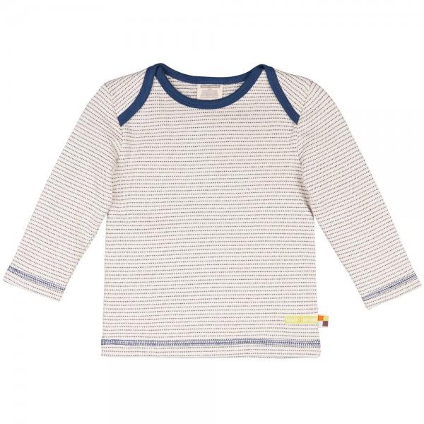 Frottee-Shirt natur/midnight