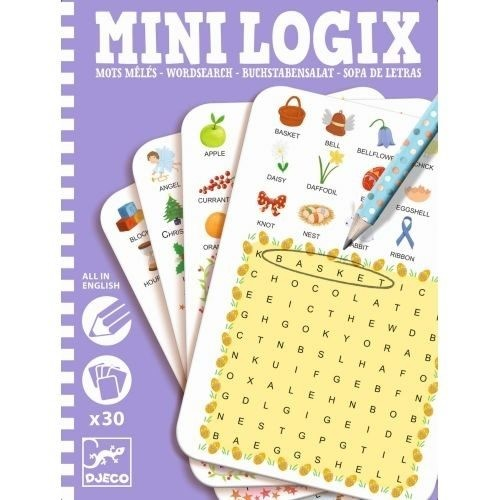 Mini Logix - Wordsearch (english)