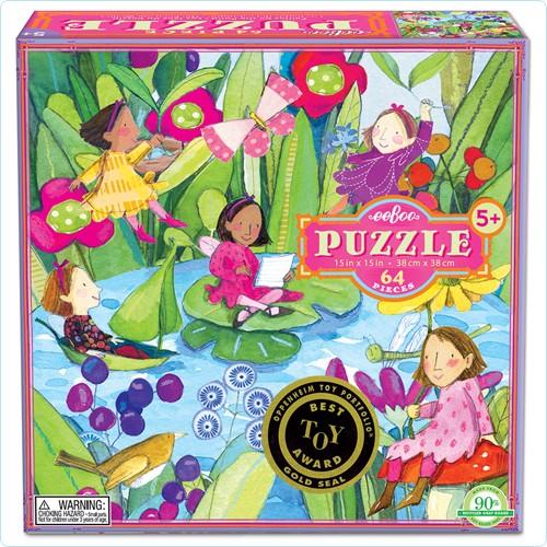 """Puzzle 64 Teile """"Die Feen am Teich"""""""