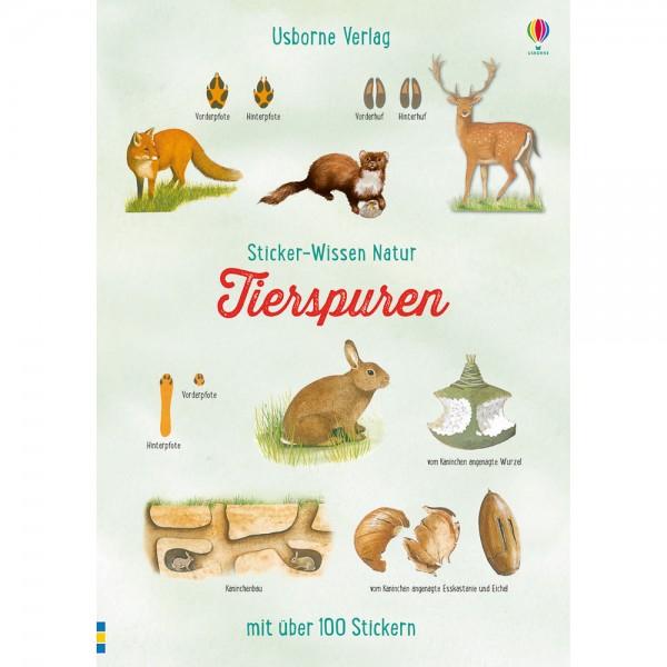 """Sticker-Wissen Natur """"Tierspuren"""""""