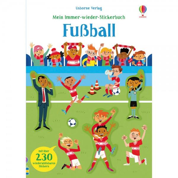 """Mein Immer-wieder-Stickerbuch """"Fußball"""""""