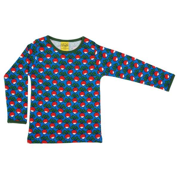"""Shirt """"Radieschen"""" blau"""