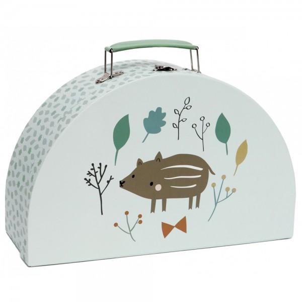 """Koffer SIZE L """"Wildschwein"""" mint"""
