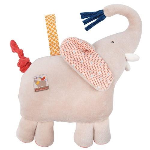 """Spieluhr Elefant """"Les Papoum"""" 23cm"""