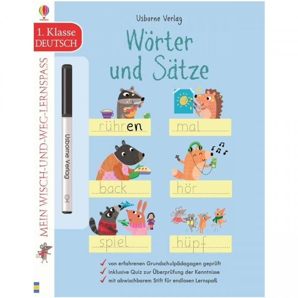 """Wisch-und-weg-Lernspaß """"Wörter und Sätze - 1. Klasse"""""""