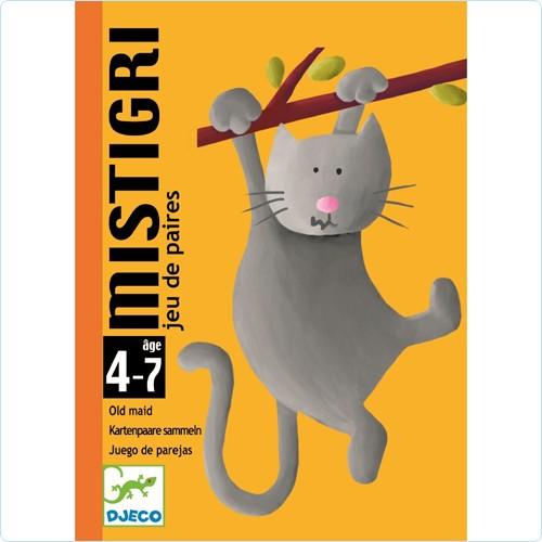 """Kartenspiel """"Mistigri"""" SCHWARZER PETER 4-7"""
