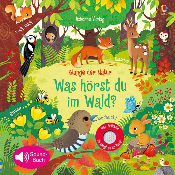 """Sound-Buch """"Klänge der Natur - Was hörst du im Wald?"""""""